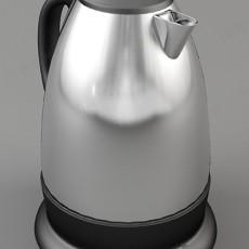 电水壶3d模型下载