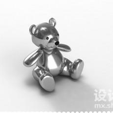 玩具熊3d模型下载