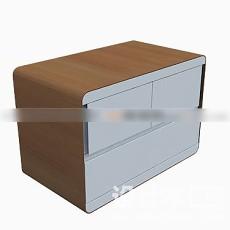 床头柜3d模型下载