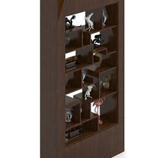 展示柜3d模型下载