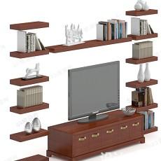电视柜3d模型下载