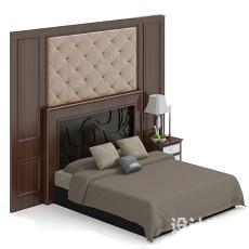 床3d模型下载