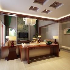 欧式客厅免费3d模型下载