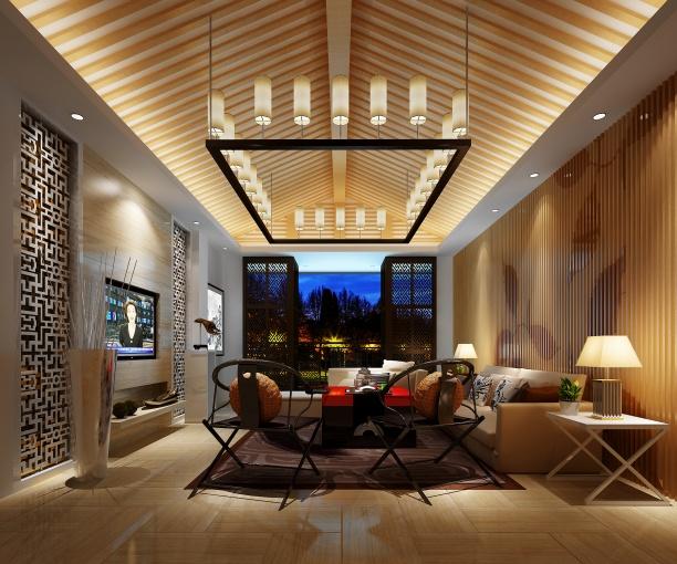 客厅灯3d模型