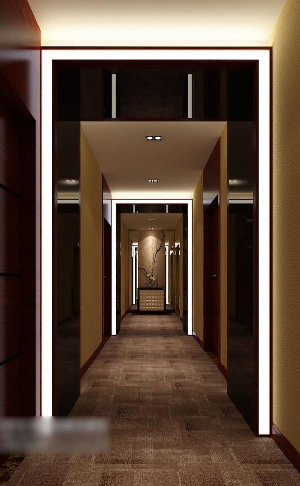 走廊玄关柜模型
