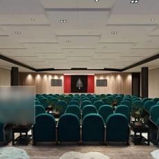 会议中心3d模型下载