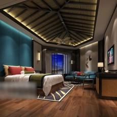 卧室木质吊顶3d模型下载