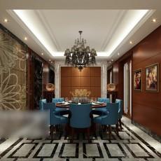 家装餐厅3d模型下载