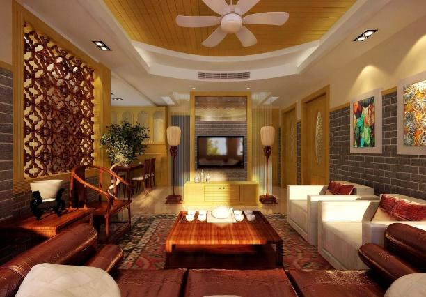 室内客厅模型