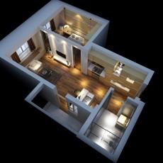 家装3d模型下载