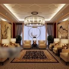 会议室吊灯3d模型下载