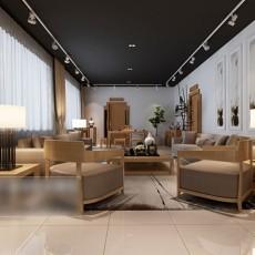 max简约室内客厅3d模型下载