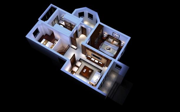 家装整体模型