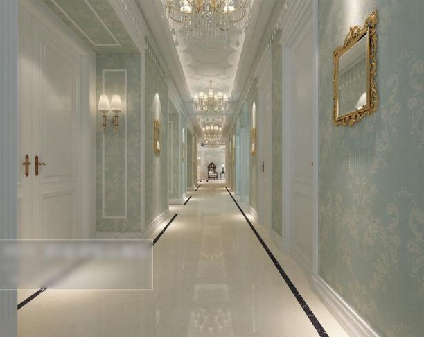 3d走廊模型