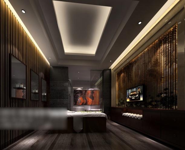 酒店宾馆客房3d模型