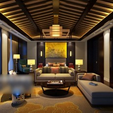 客厅挂画3d模型下载