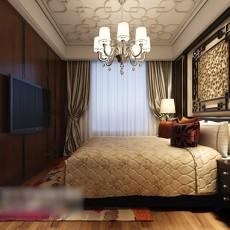 家装卧室吊灯3d模型下载