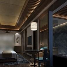 卧室浴缸3d模型下载