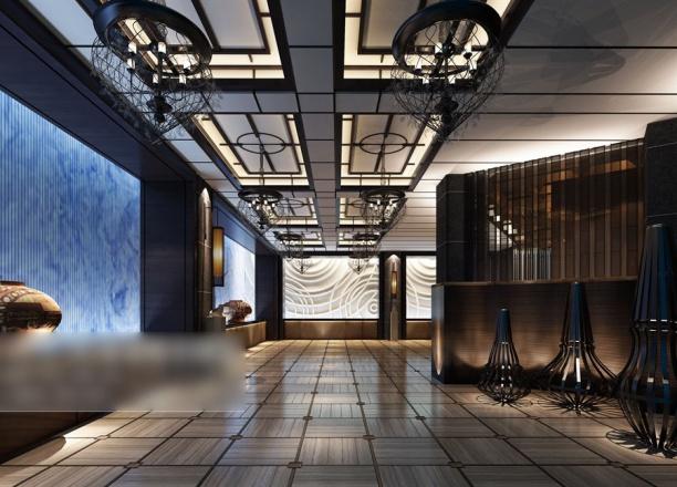走廊3d模型下载