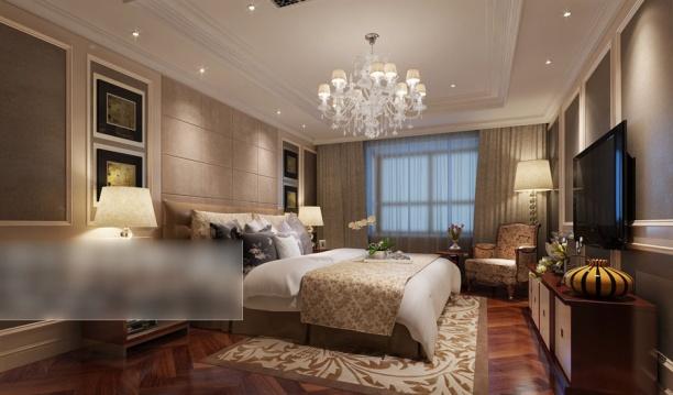 3d卧室吊灯模型