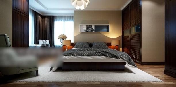 中式卧室模型下载