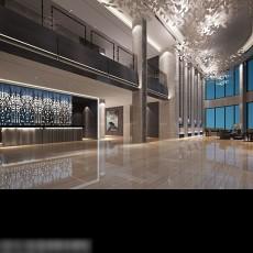 大厅吊顶3d模型下载