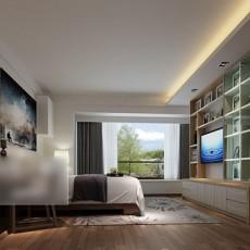 卧室家居电视柜3d模型下载