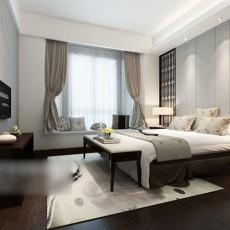 简约卧室整体3d模型下载