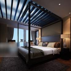 家装卧室3d模型下载