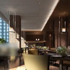 工装餐厅整体3d模型下载