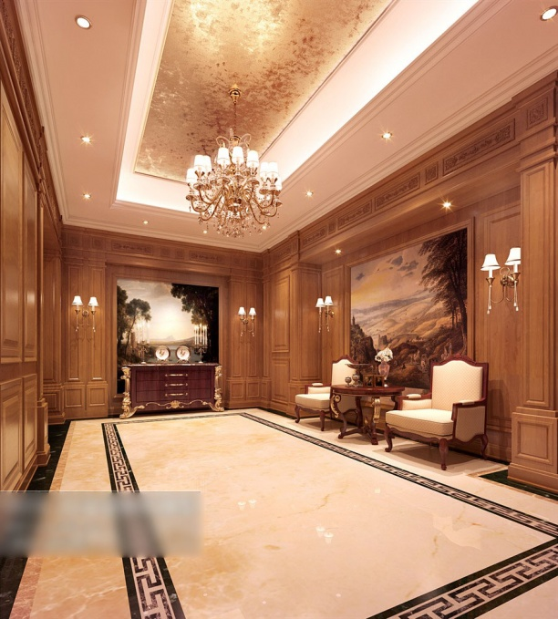 玄关走廊模型