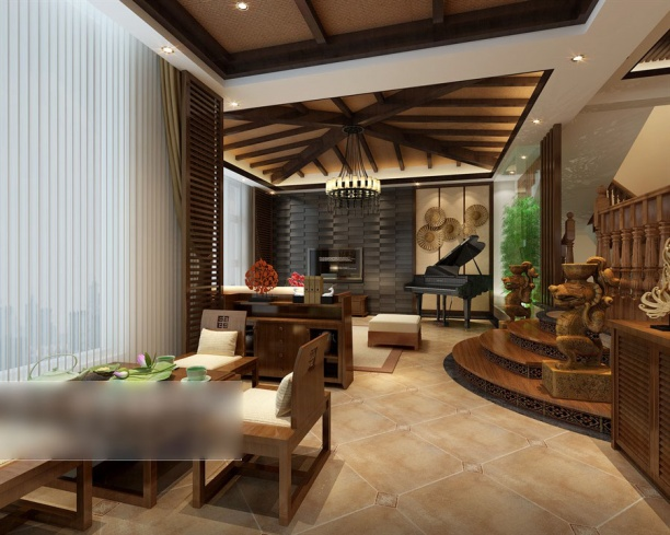 3d餐厅模型下载