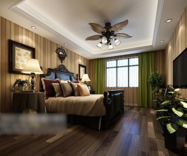 卧室整体模型下载