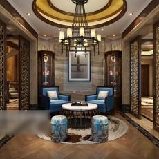 家装休闲区3d模型下载