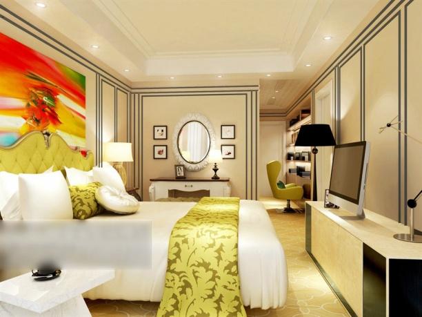 现代风格卧室模型下载
