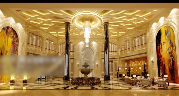 大厅3d模型