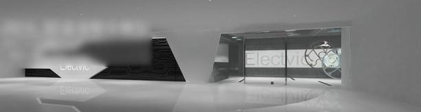 大厅前台3d模型下载