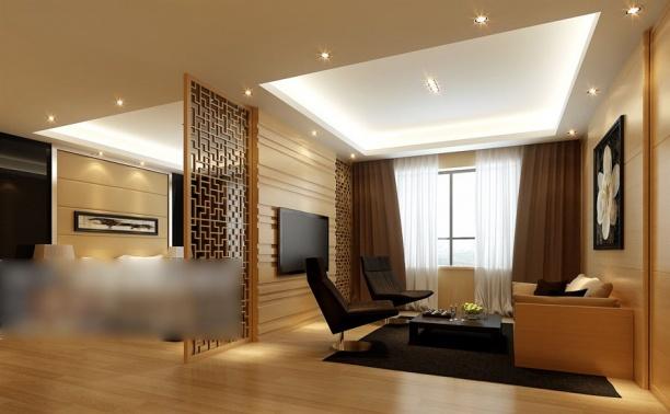 客厅隔断模型