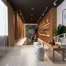 茶具店3d模型下载
