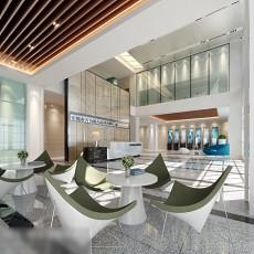 公司大厅整体3d模型下载