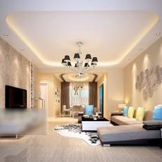 简约客厅沙发3d模型下载