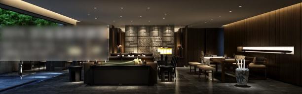 3d别墅客厅模型