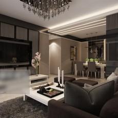 家装客厅沙发3d模型下载