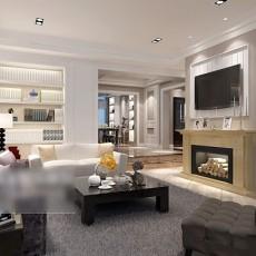 客厅壁炉3d模型下载