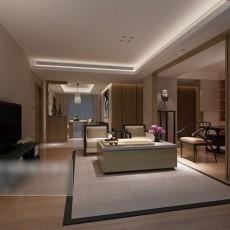 简约客厅家具3d模型下载