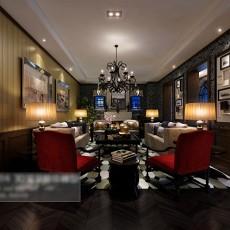 中式客厅3d模型下载