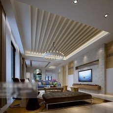 max家装客厅3d模型下载