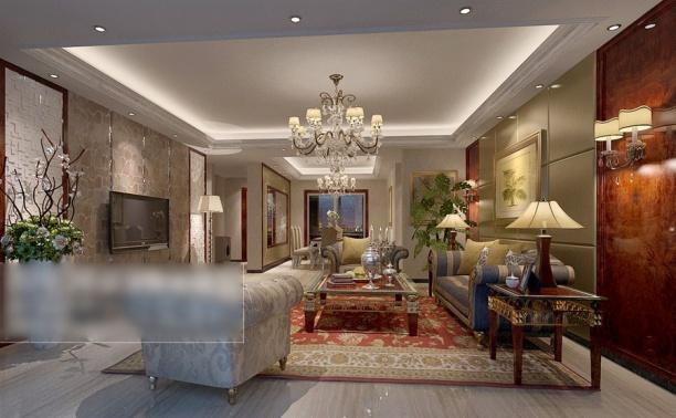 3d客厅整体模型