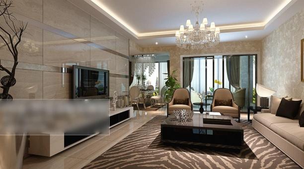 客厅家具3d模型