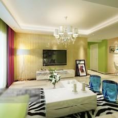 客厅电视墙3d模型下载